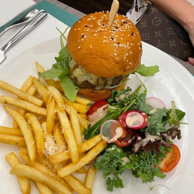 Truffle Beef Burger ($26)