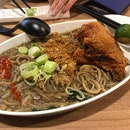 Fried Chicken Hokkien Mee [$8.90]