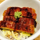 Unagi With Rice And Omelette