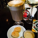 Caffe Latte And Illy Crema