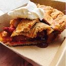 Nectarine & Peach Pie