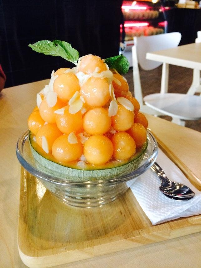 Melon Kakigori