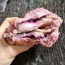 Purple Sweet Potato Yam Mochi