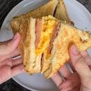 Taiwanese Pork Patty + Egg Toast