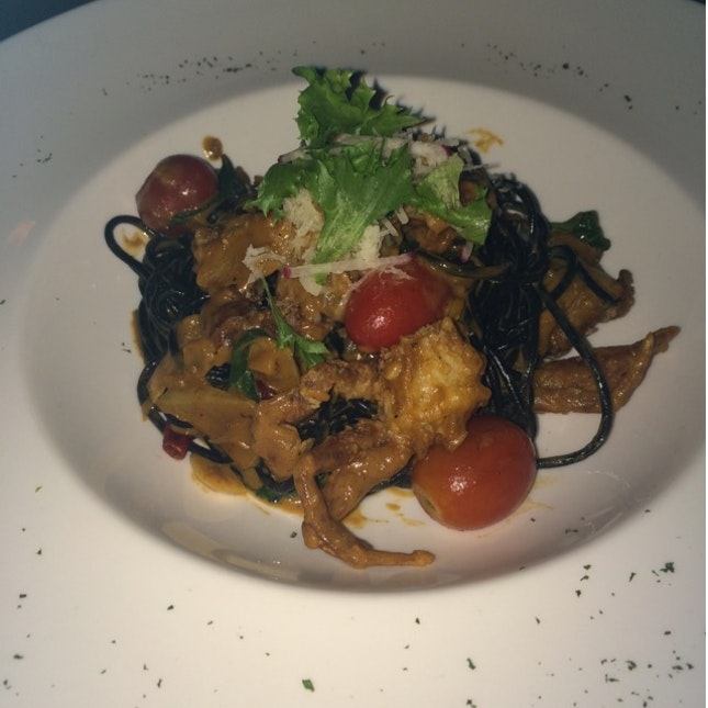 Soft Shell Crab Pasta
