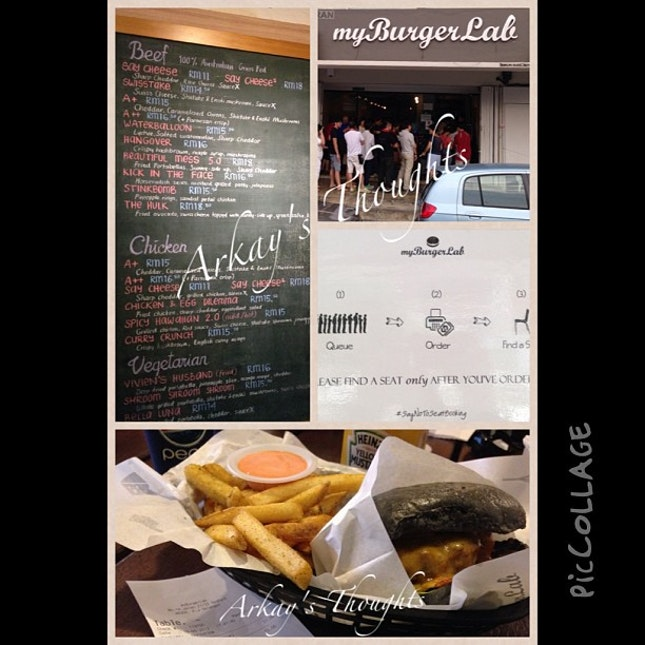 Finally tried out #myburgerlab @myburgerlab and loved it.