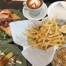 2Jaffles, Truffle Fries, 2 Coffee ($38)