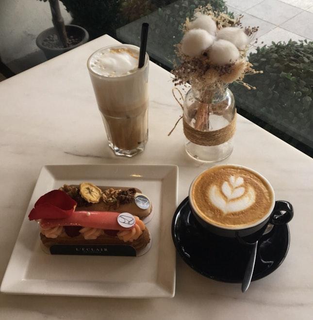 Coffee & Eclairs ($14)
