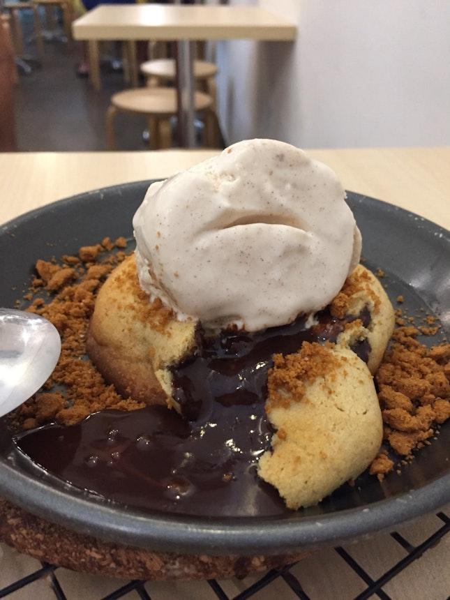 lava cookie goodness