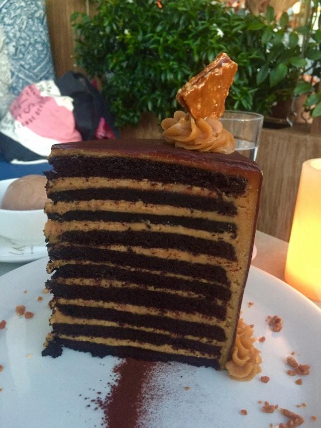20 layer chocolate cake