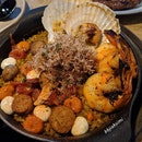 Shrimp, Prawn And Chorizo Rice ($26)