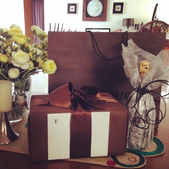 #birthdaygift #louisvuitton #TWG #tea # thankyou for birthday gift from Louis Vuitton Surabaya ❤️