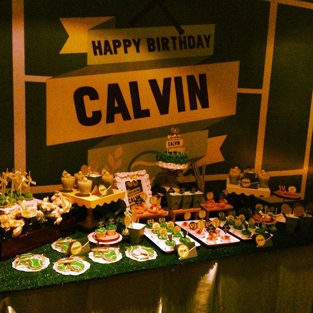 #happybirthday #dinner #family # happy birthday calvin