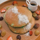 Pandan Pancakes ($14)