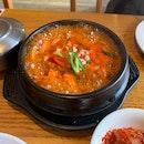 Kimchi Jjigae (Kimchi & Pork) ($13)