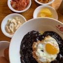 Jjajangmyeon With Egg ($14)