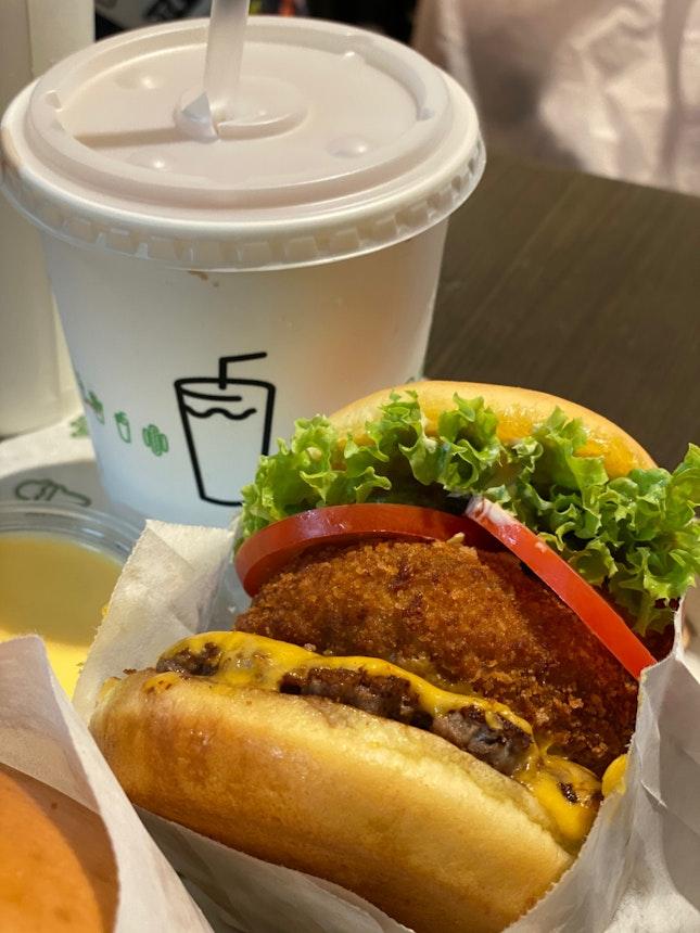 Shack Stack Burger