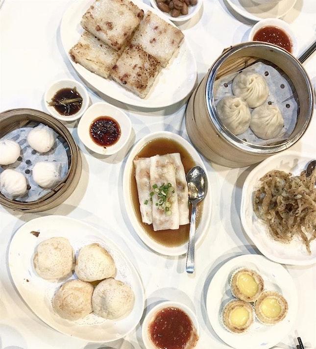 Dim Sum Supper Spot!! Sweechoon – Top 3 favorites: 1) Juicy Xlb 2) succulent prawn Hargow, and  3) Sweet Portuguese custard egg tarts