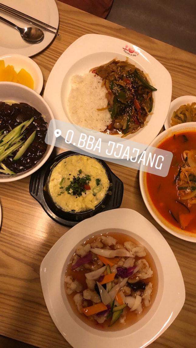 Satisfying Korean Food
