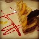 #fruitparadise #dessert #banana #cake #manggo #food #foodporn #sweet #instafood