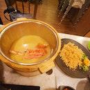 Lobster Fried Rice Porridge
