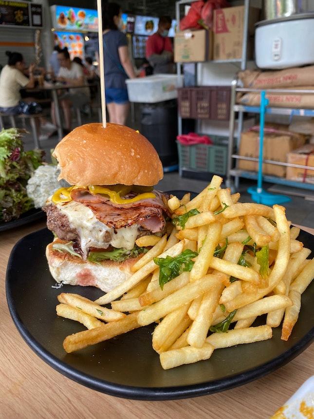 Laker's Cuban Beef Burger ($13.90)