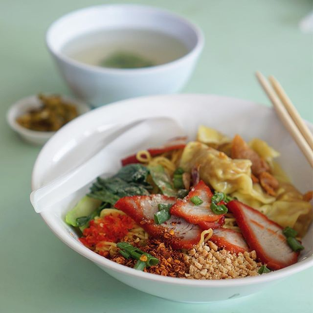 Didn't manage to try Foon's Thai Recipe wanton noodles before it closed!