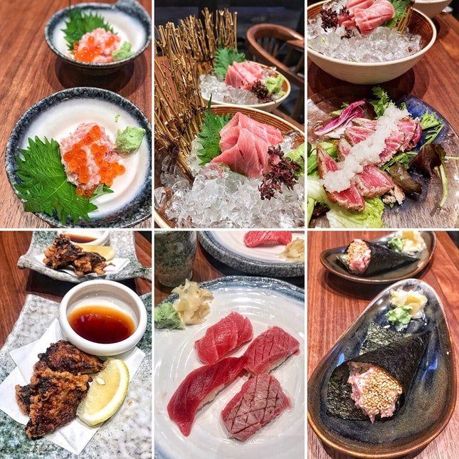 Last day for the 1-for-1 Trust Maguro  set at $59.8++!
