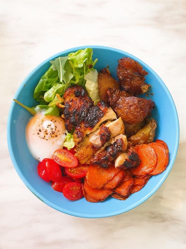 Dijon Chicken Rice Bowl ($10)