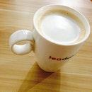 Tired Coffee Latte 😅 #latte #coffee #teadot #tired