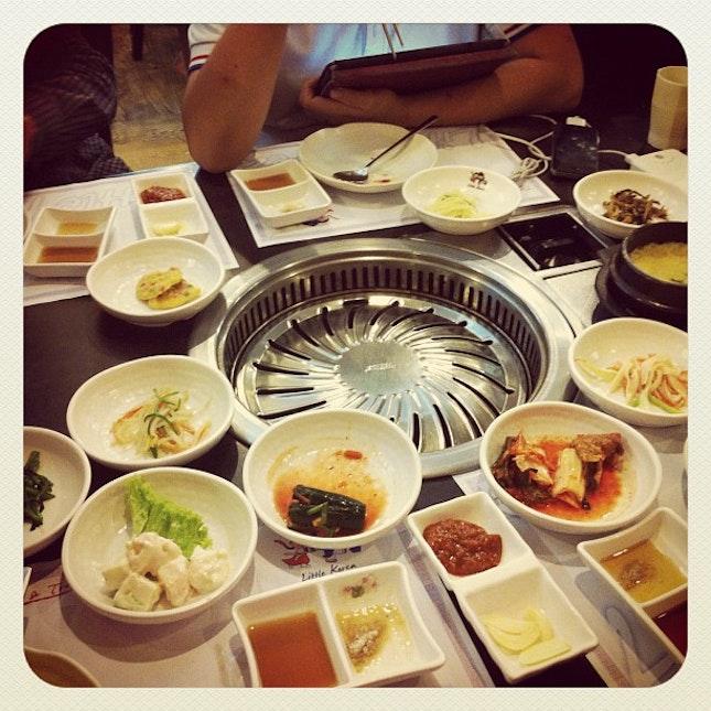 Dinner ~ @darren_tang @cyleong #ryansua #food #korea #dinner #october #saturday #solaris #kl