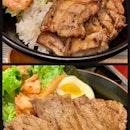 Pork Belly & Steak Don