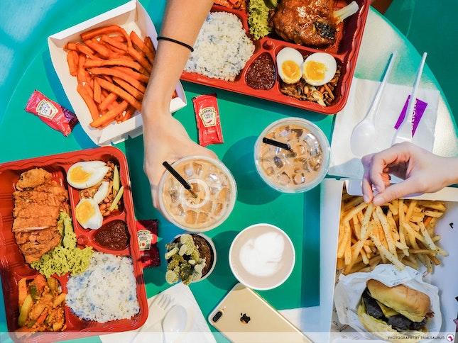 Review Of Omakase Burger And Simple Nasi Lemak