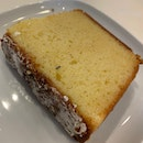 lemon lavender pound cake