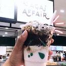 an acai affair yoghurt thingy