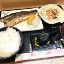 Grilled Mackerel Set