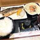 Grilled Mackerel Set