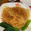 Braised Noodles With Shrimp Roe