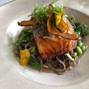 Glazed Ocean Trout Soba