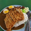 Delicious Tonkatsu Curry Rice