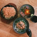 Spicy Salmon Don, Negitoro Don & Rosti Mentai