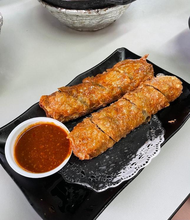 Homemade Ngoh Hiang ($5.20)