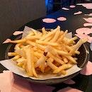 Truffle Sea Salt Fries ($9)