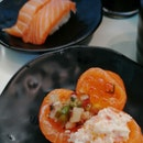 Assorted Sushi In Sushi Plus