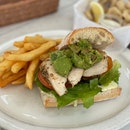 Roast Chicken & Avocado Ciabatta [$16]