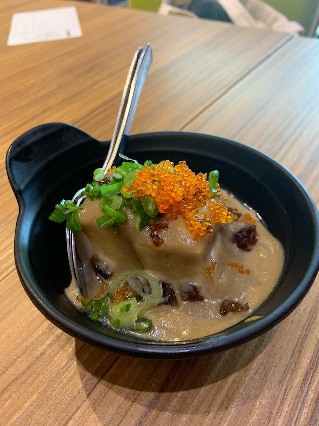 Pidan Tofu ($4)