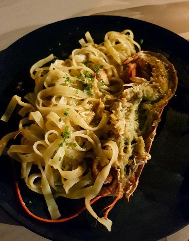 Chilli Lobster Tagliatelle ($28)