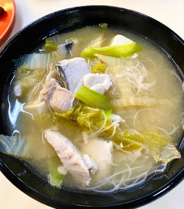 Sliced Fish Soup ($5.50)