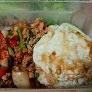 Thai Basil pork rice