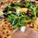 Pizza Bismark ($23.90)